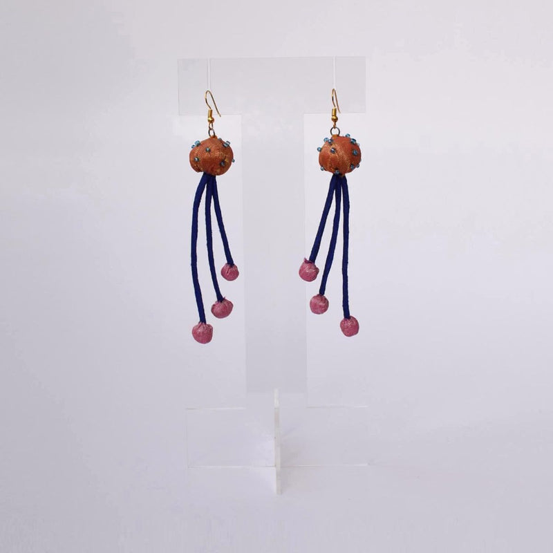 Aarchi Earrings-3 strings - AAR3-E912
