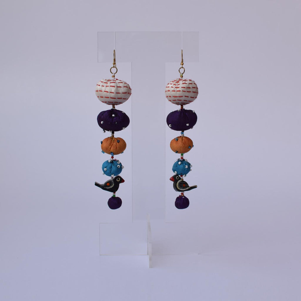 Long Tia Earrings-TLO-E138