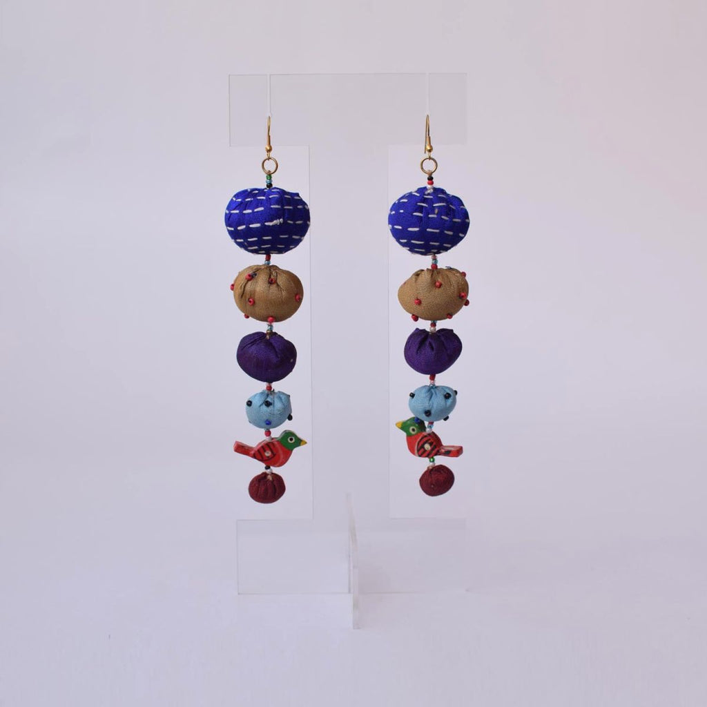 Long Tia Earrings - TLO-E154