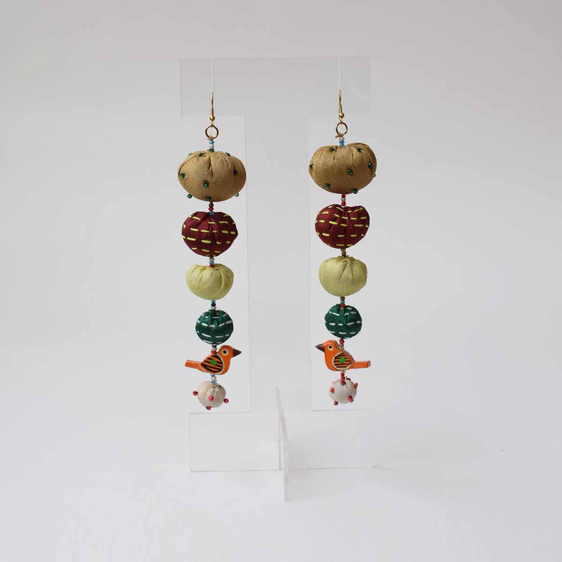 Long Tia Earrings- TLO-E177