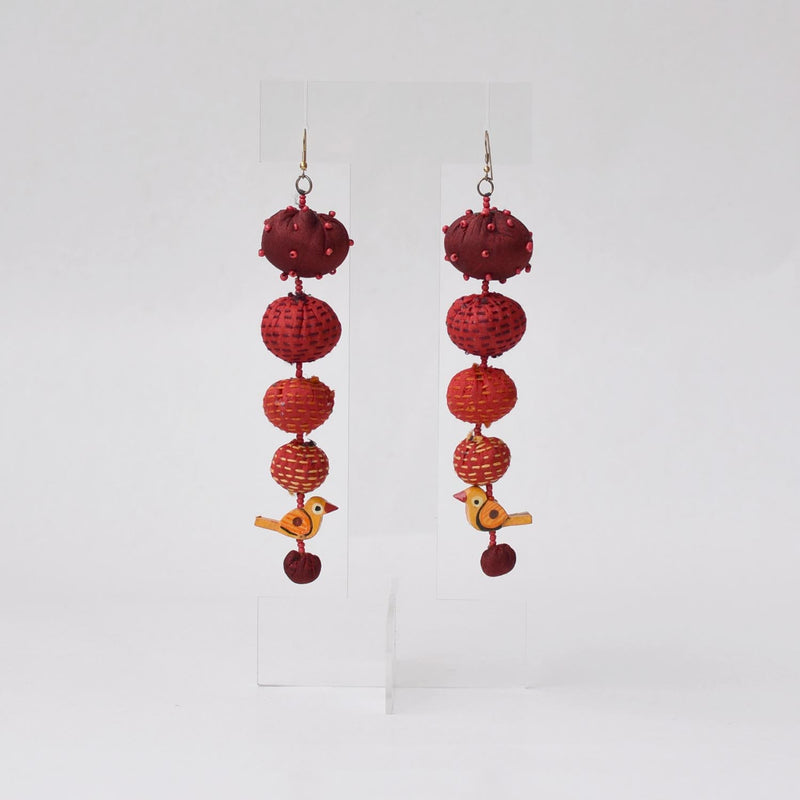 Long Tia Earrings-TLO-E191
