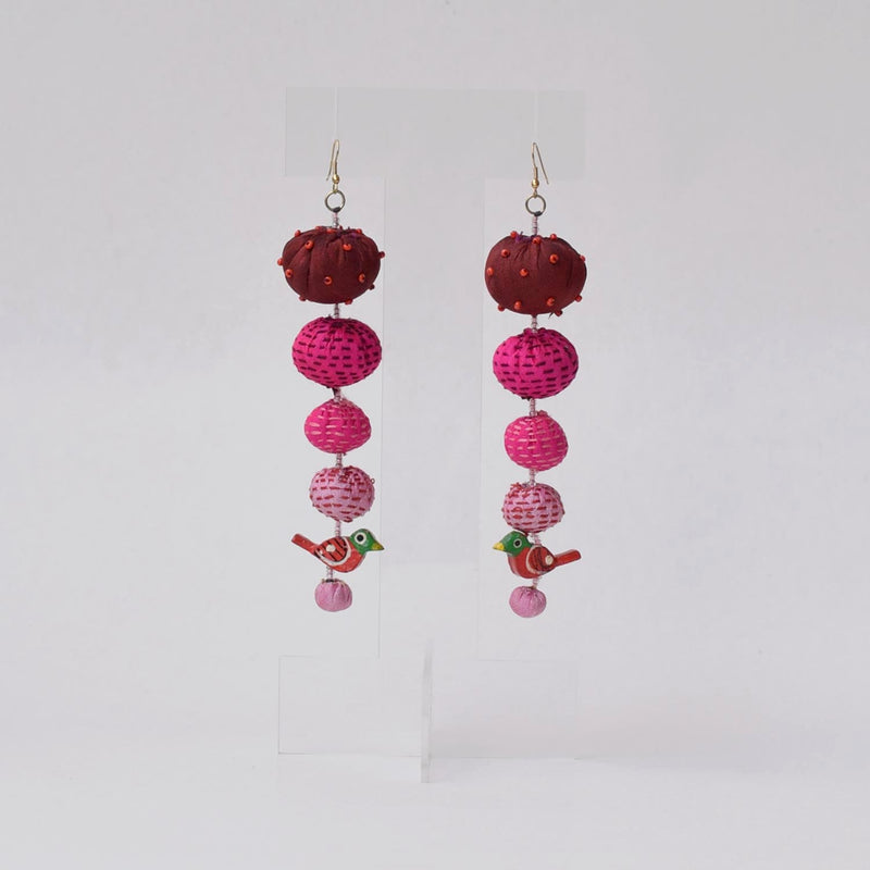 Long Tia Earrings-TLO-E192