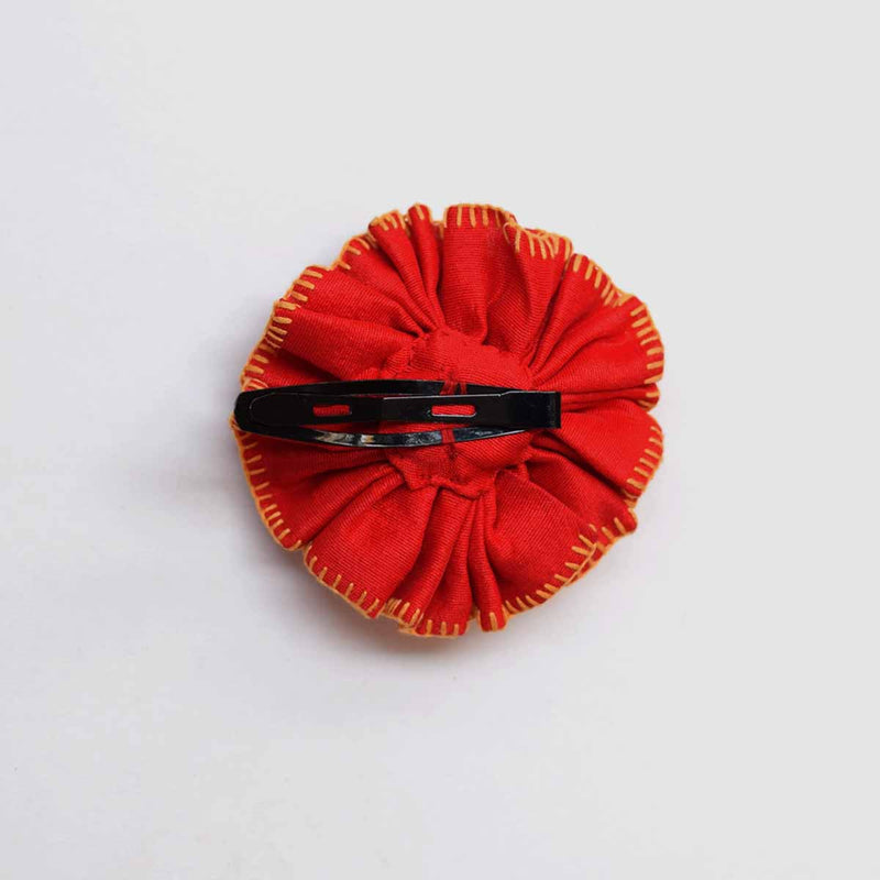 Phoolwanti HairClip-Red PH-CL2
