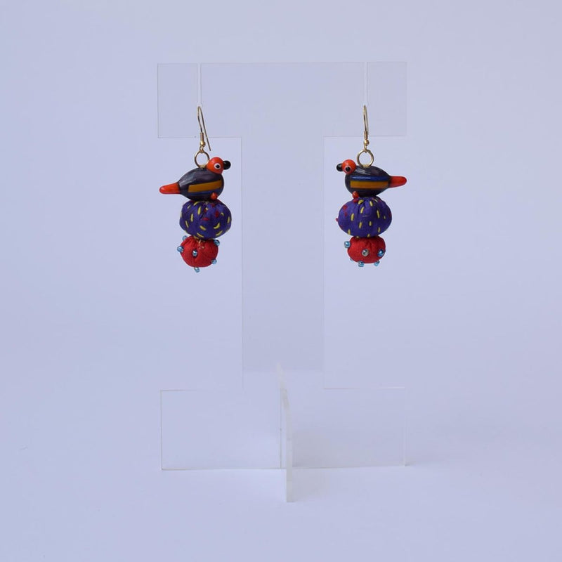 Moyna hooks Earrings - MY-E237