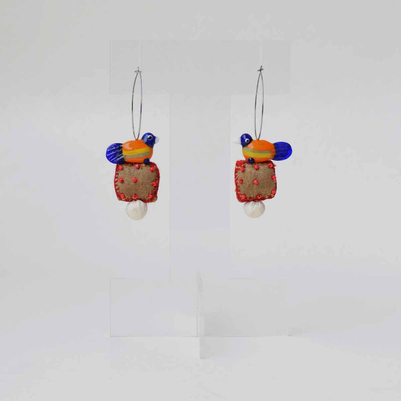 Moyna hoops Earrings - MY-E290
