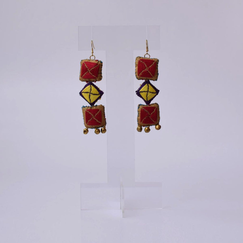 Kamli 3 Earrings - KL3-E32