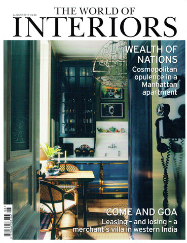 THEMIS Z The World of Interiors - August 2017