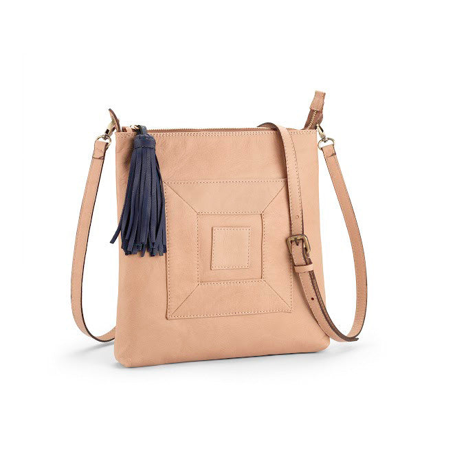 The Infinity Leather Cross Body Bag