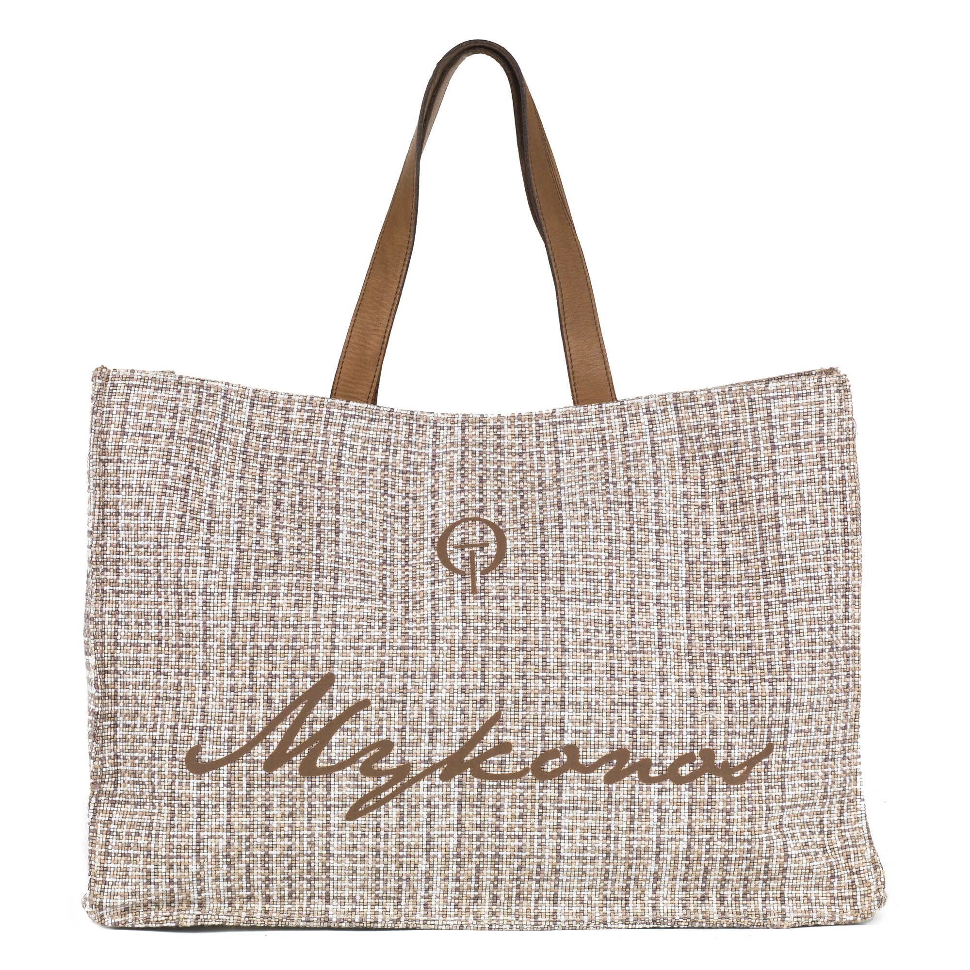 Μykonos Straw Beach Bag