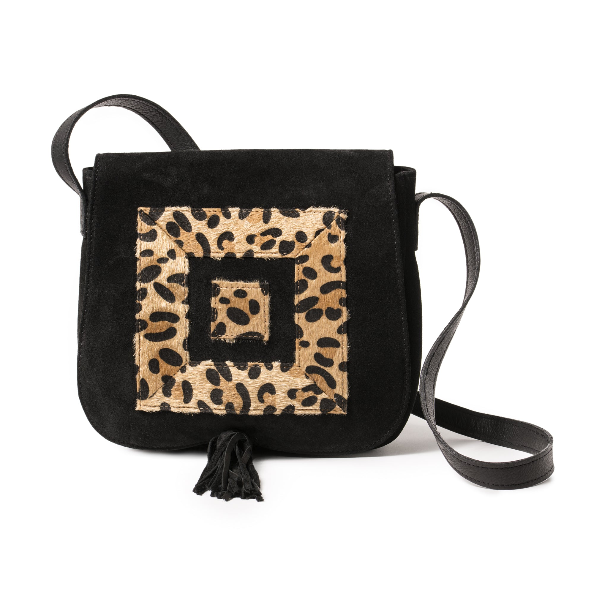 Infinity Animal Print Messenger Bag