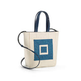 Infinity Canvas Top Handle Bag