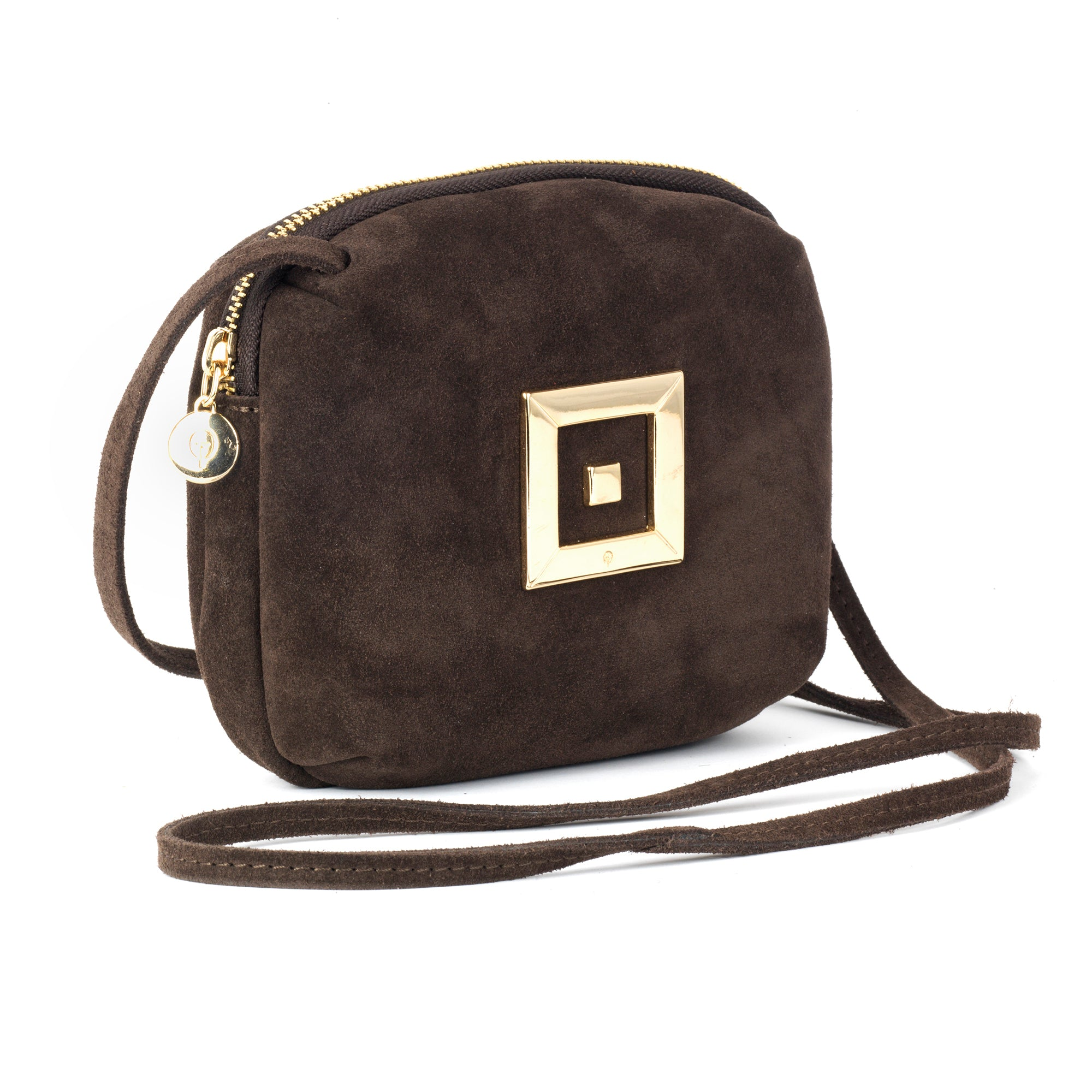 Kate Suede Camera Bag