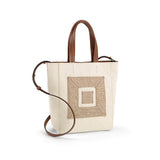The Infinity Canvas Cross Tote