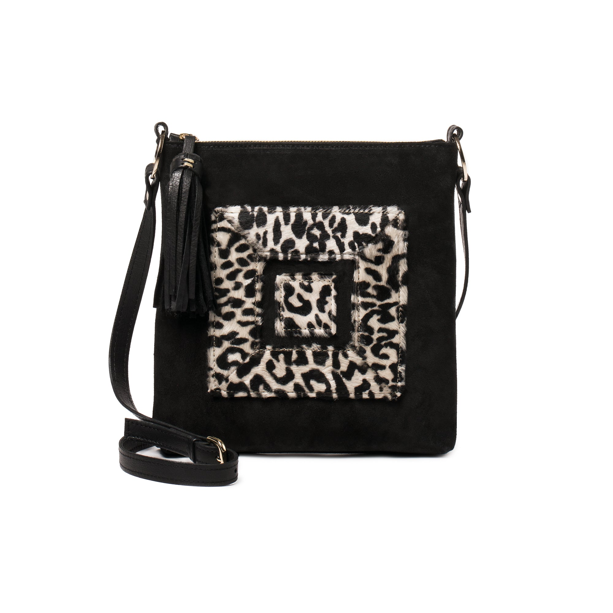 Infinity Animal Print Cross Body Bag