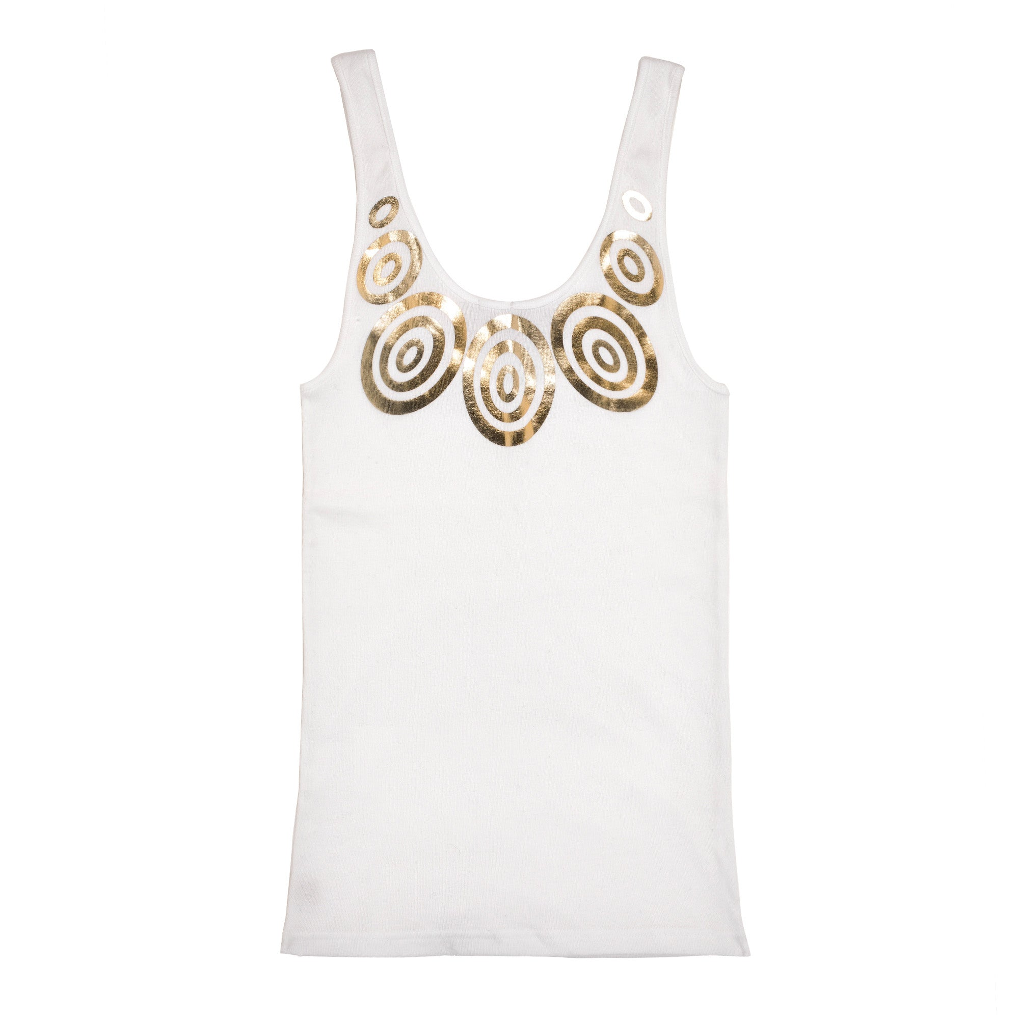 The Kyklos Gold Tank Top
