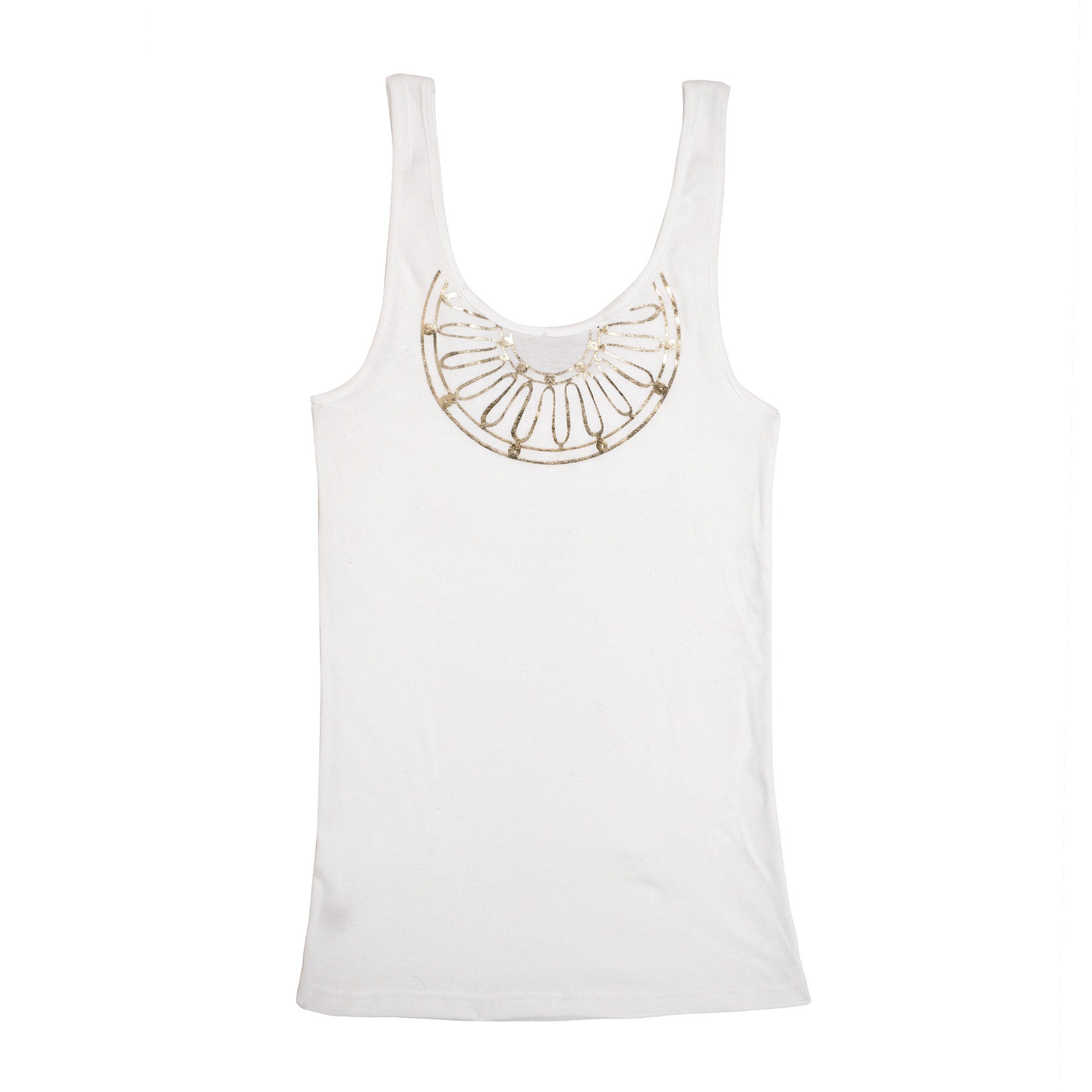 The Kyma Gold Tank Top