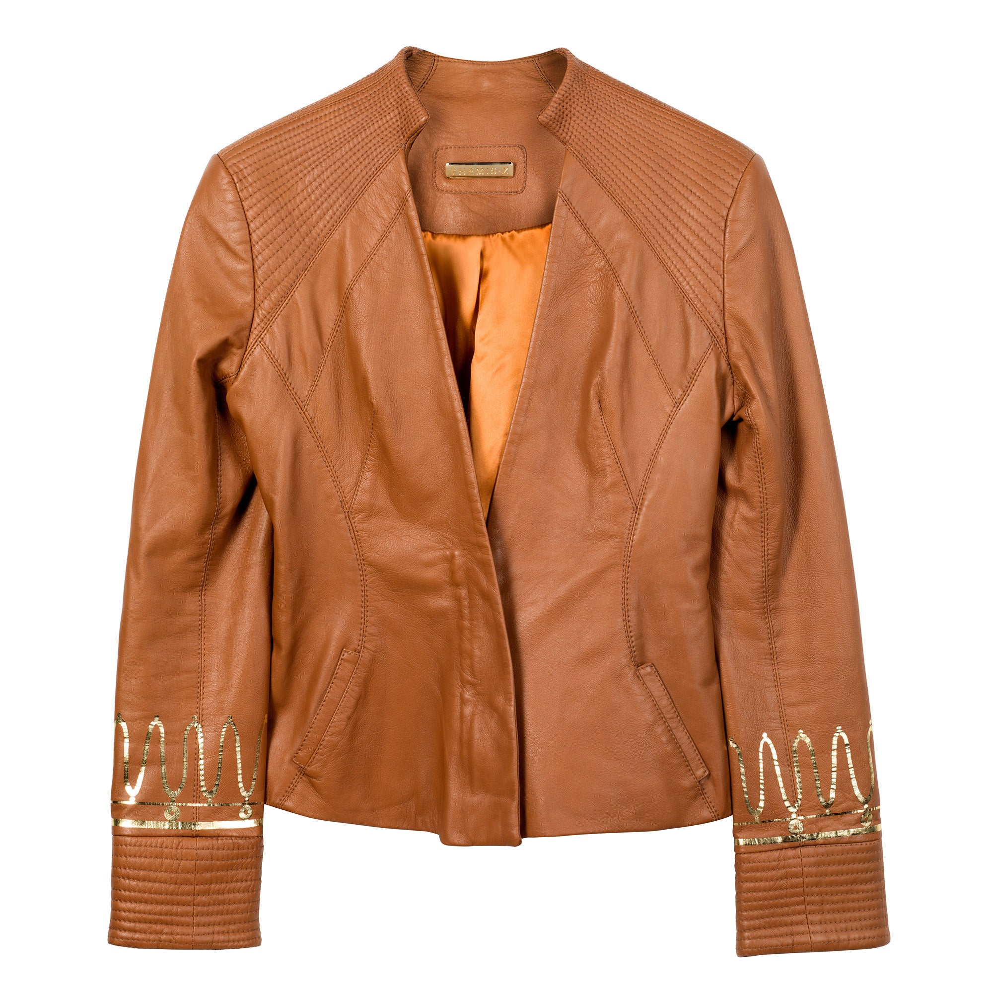 The Kyma Leather Jacket