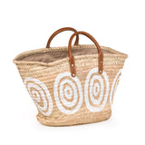Kyklos Basket with Leather Handles