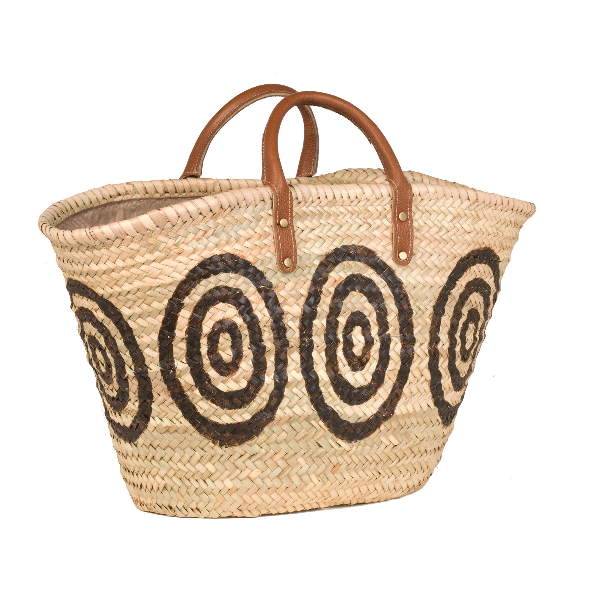 The Kyklos Basket with Leather