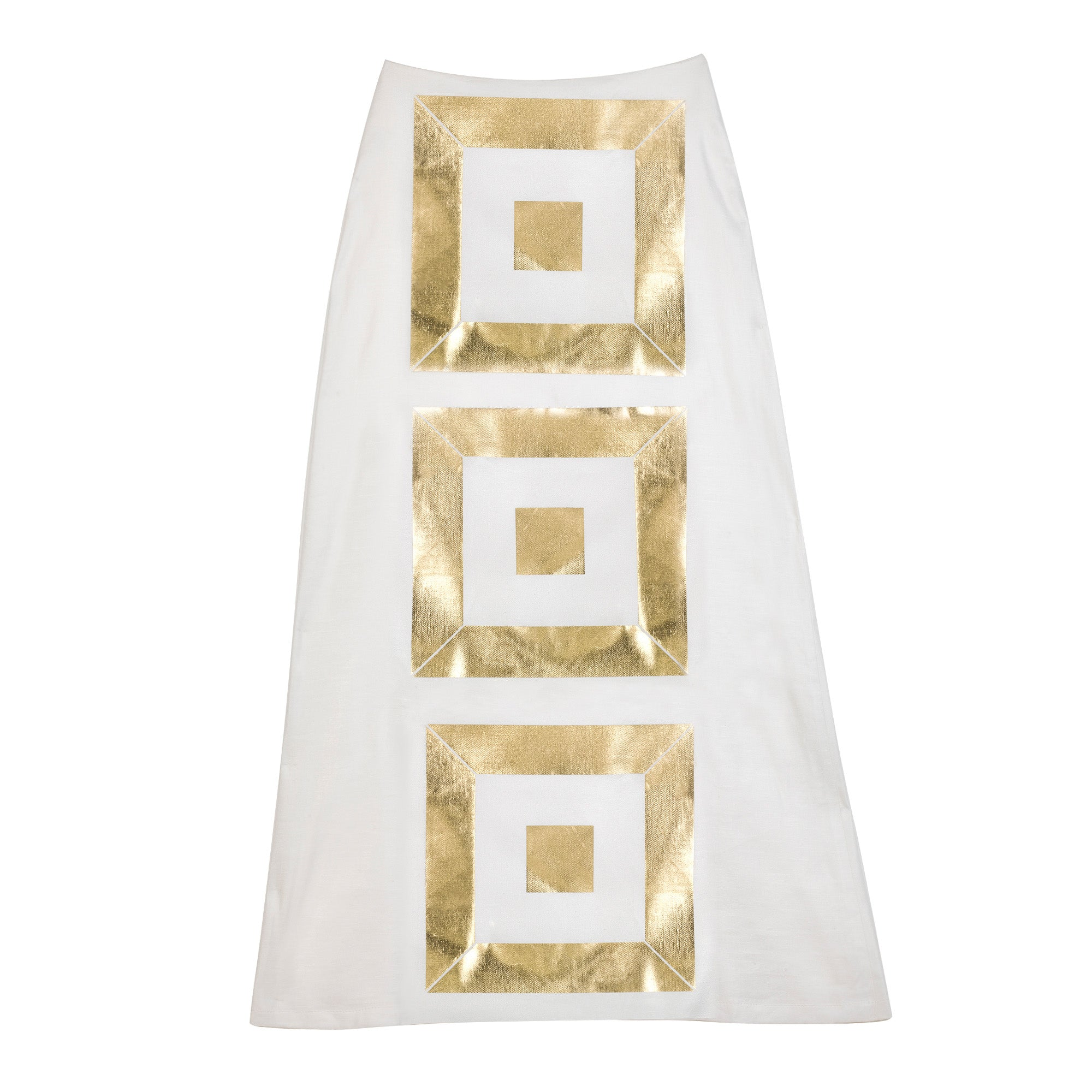 The Infinity Gold Skirt