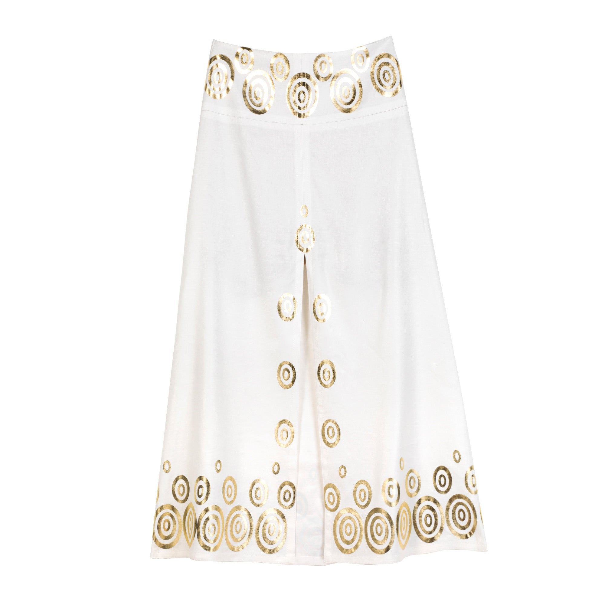 The Kyklos Skirt Gold