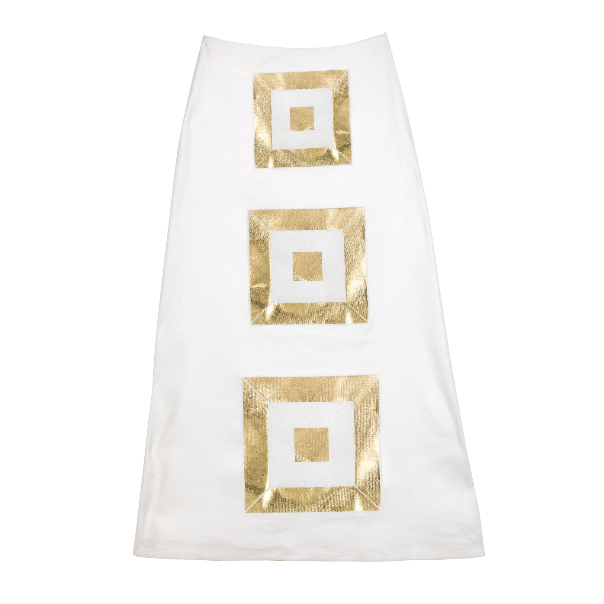The Infinity Gold Pyramid Skirt