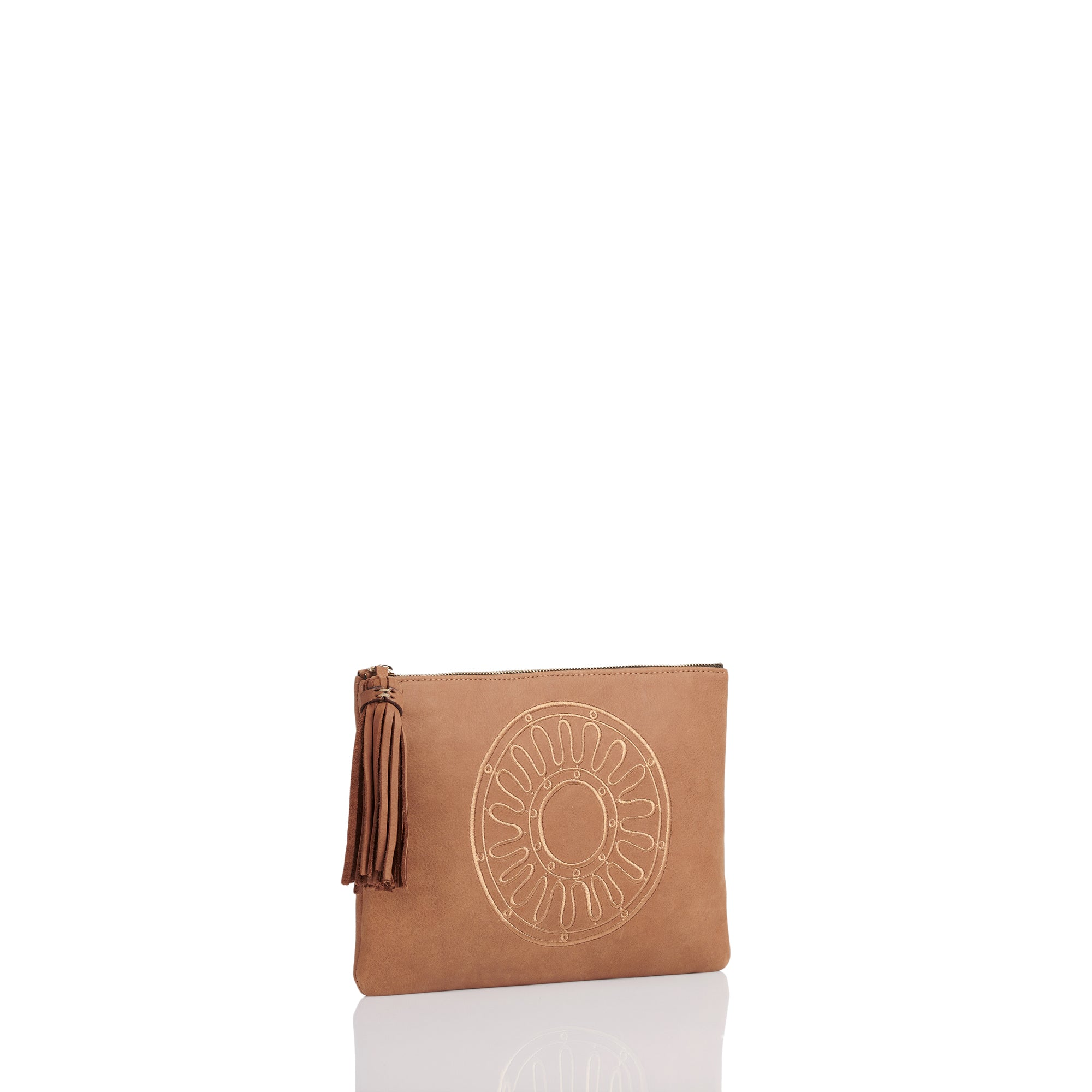 Kyma Clutch Leather Bag