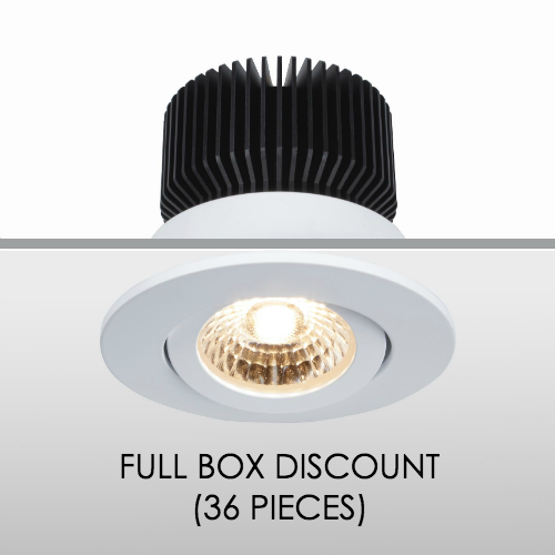 LED Downlight Spot Tiltable 13W CCT Changing (36-piece discount)