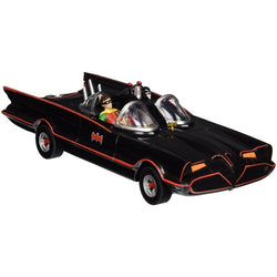 Batman Classic Tv Series Batmobile With Baman And Robin Bendable Action Figures