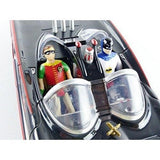 Batman Classic Tv Series Batmobile With Batman And Robin Bendable Action Figures