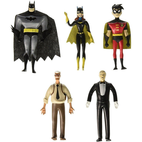 "The New Batman Adventures: ""Heroes"" 5-Piece Bendable Boxed Set"