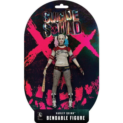 "Suicide Squad Movie 6"" Harley Quinn Bendable Action Figure"