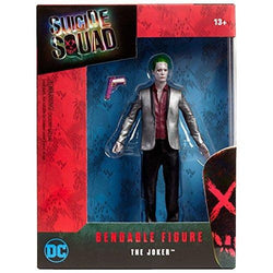 "Suicide Squad Movie 6"" Joker Bendable Action Figure"