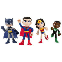 Justice League 4pc Set - ACTION BEND-DEEZ!