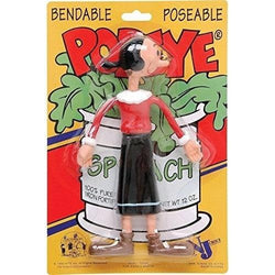 "Olive Oyl 6.5"" Bendable Figure"