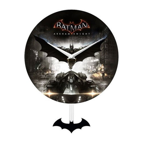 Batman: Arkham Knight Pendulum Wall Clock
