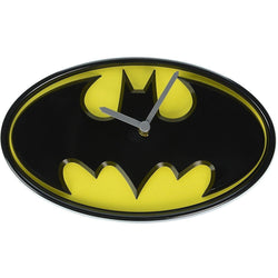 Batman Logo Wobble Clock