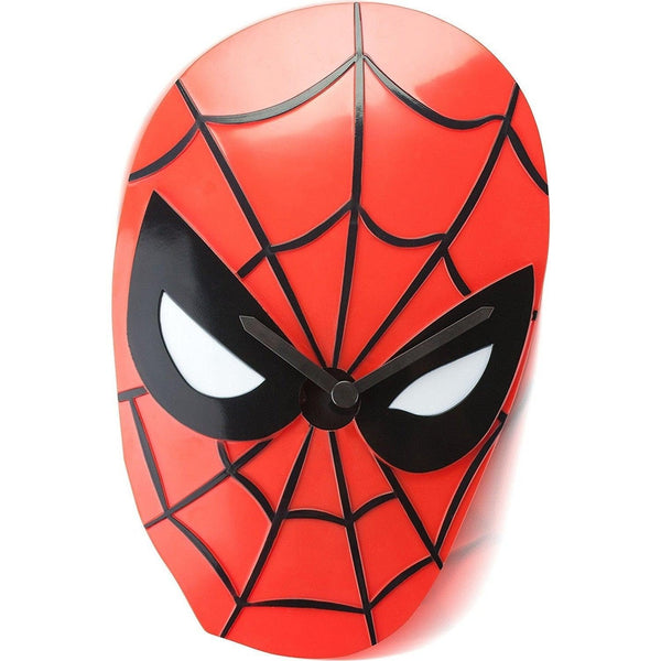 Spiderman Face Wobble Clock