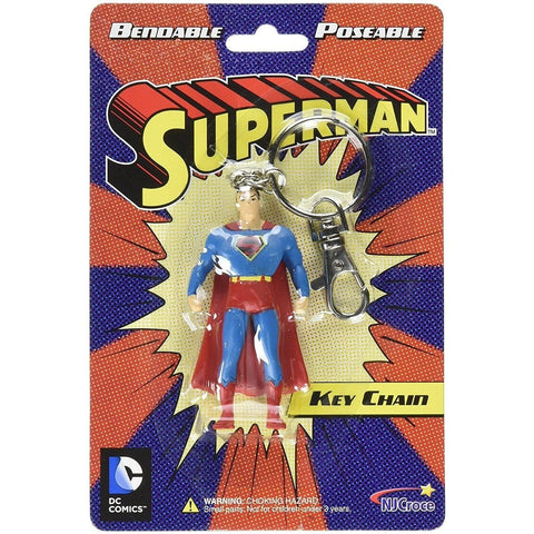"Superman 3"" Toy With Ring Hanging Keychain"