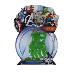 "Hulk Fist 3"" Bendable Toy With Ring Keychain"