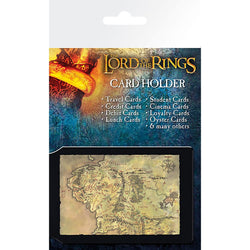 Lord Of The Rings Map Card Holder