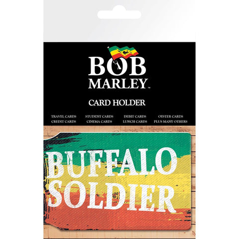 Bob Marley Buffalo Soldier Card Holder