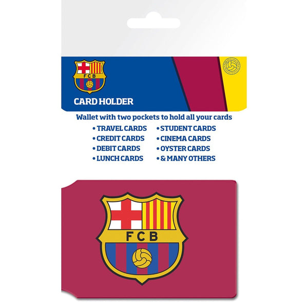 Barcelona Crest Card Holder