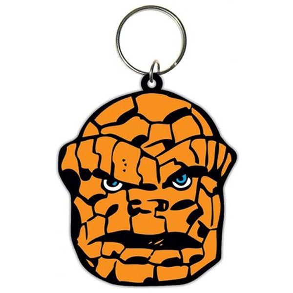 The Thing (Face) Rubber Keychain