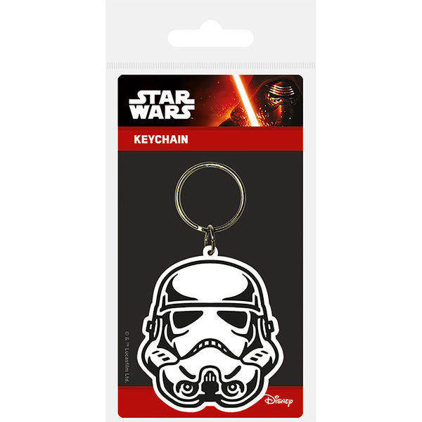 Star Wars (Storm Trooper) Rubber Keychain