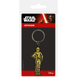 Star Wars (C3PO) Rubber Keychain