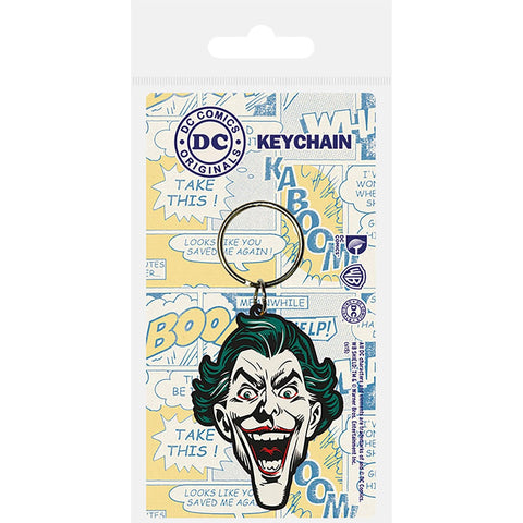The Joker (Head) Rubber Keychain