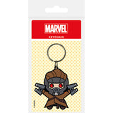 Marvel Kawaii (Star Lord) Rubber Keychain