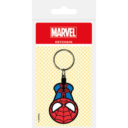 Marvel Kawaii (Spiderman) Rubber Keychain
