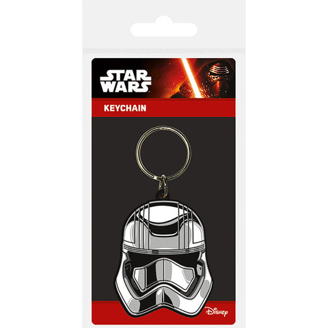 Star Wars Episode VII (Captain Phasma) Rubber Keychain
